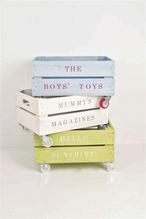 como decorar una caja para guardar juguetes diy reciclar cajas de madera para guardar juguetes diy