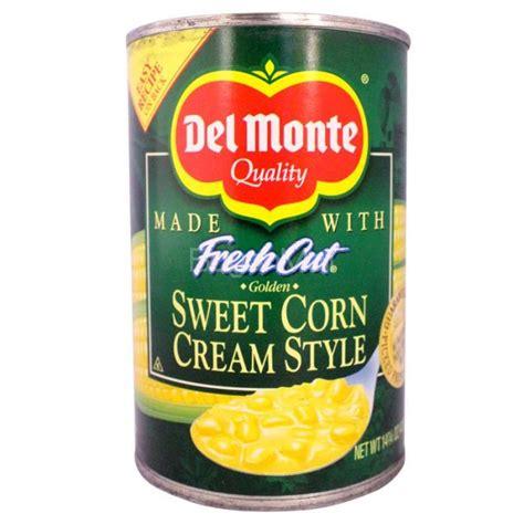 Delmonte Fresh Cut Healves825gr29oz monte fresh cut sweet corn style 418g