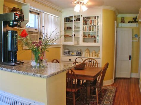 breakfast nook with powder room attached picture of