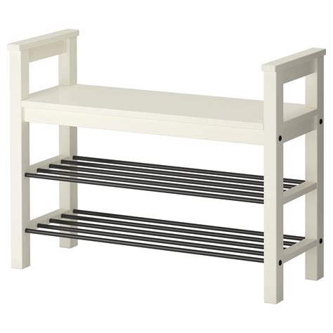 hemnes shoe storage hemnes bench with shoe storage white 85x32 cm ikea