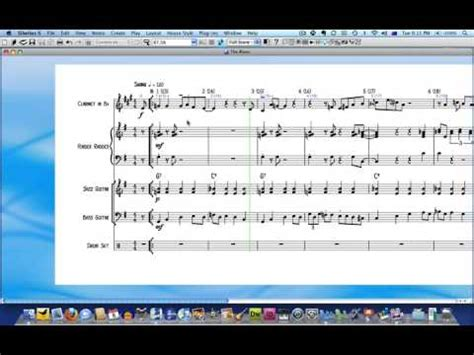 sibelius tutorial drum set notation sibelius tutorial the 1 minute drum part youtube