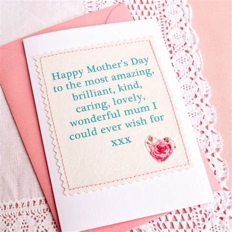 Handmade Mothers Day Card - handmade mothers day card by arnott cards gifts
