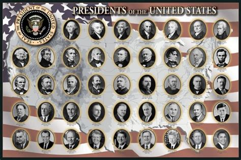 presidents of the united states newseum online store presidents of the united states poster