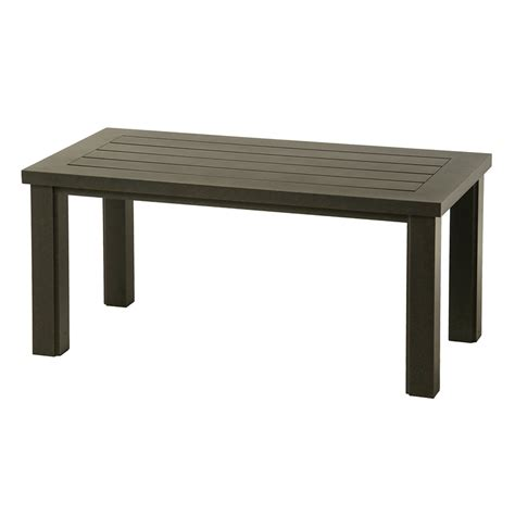 Hanamint Sherwood 24 Quot X 48 Quot Retangular Coffee Table 48 Coffee Table