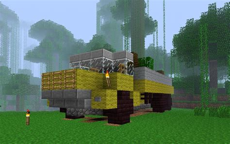 minecraft truck dump truck minecraft project