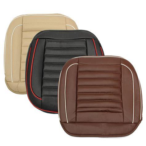 leather car seats 50x50cm pu leather car cushion seat chair cover black