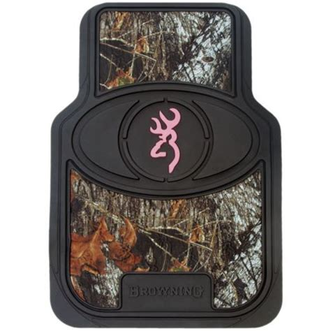 Browning Pink Floor Mats by Browning Pink For Camo Buckmark Floor Mat 2 Set