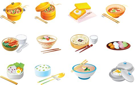 food vector cartoon food icon vector free vector 4vector