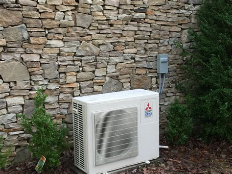 mitsubishi mini split install douglas cooling and heating installs efficient
