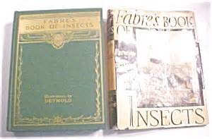 fabre s book of insects illus by detmold 1937 books nonfiction at great expectations antiques