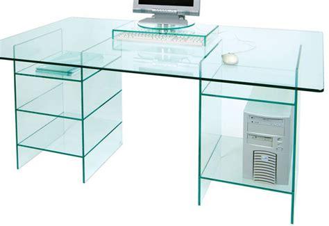 Glass Computer Desk Uk Glass Computer Desks Uk