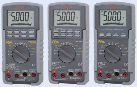 pc510 sanwa electric instruments pc510a digital multimeter 10a ac 1000v ac 10a dc 1000v dc
