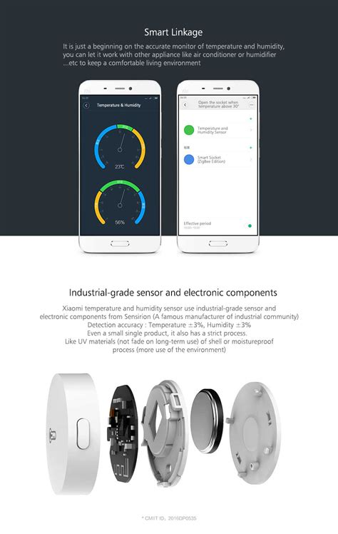 Xiaomi Smart Temperature And Humidity Sensor Xiaomi Smart Temperature And Humidity Sensor Kpapa
