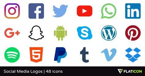 social media images social media logos 48 free icons svg eps psd png files