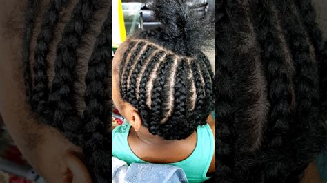 braid pattern for middle part sew in natural hair braid pattern for a sew in middle part youtube
