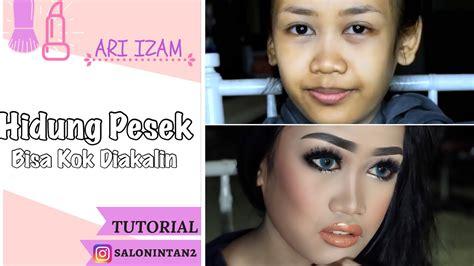 cara membuat anak hidung mancung tutorial shading hidung pesek jadi mancung by ari izam