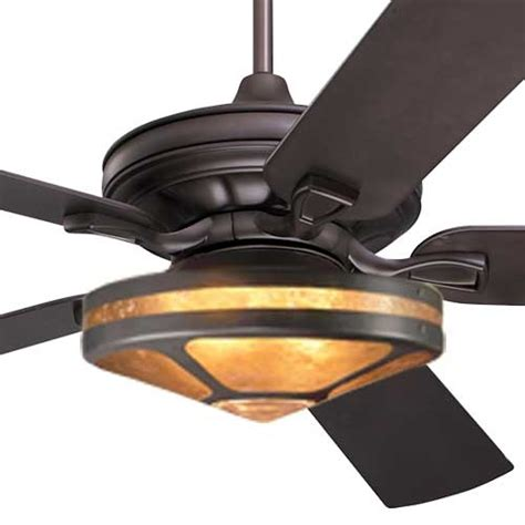 arts and crafts ceiling fan craftsman fan with mica glenaire light