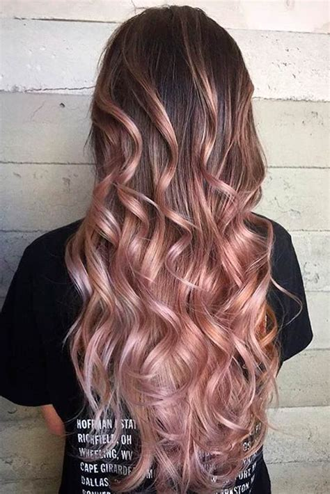 dyed hairstyles for brown hair 27 fabulous brown ombre hair brown ombre hair hot brown