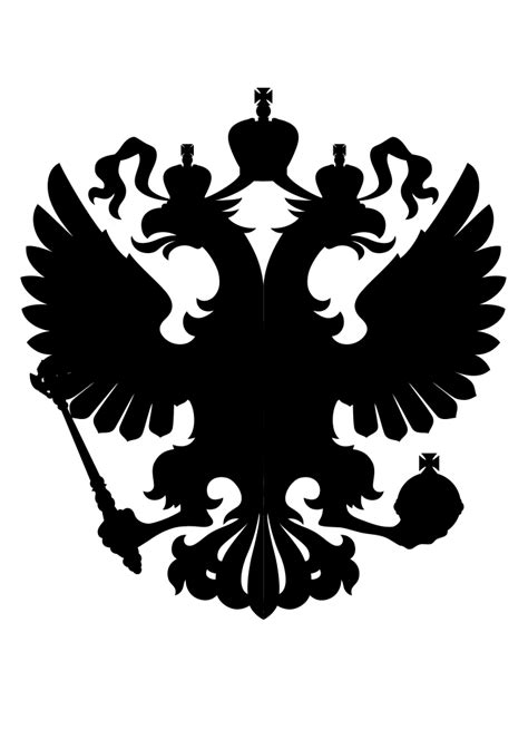 filesilhouette black coat  arms   russian