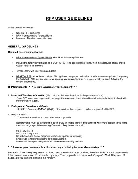 free printable business proposal form generic