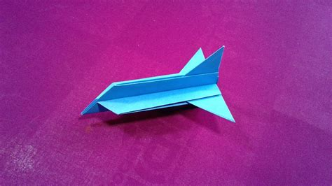 Make A Paper Weight - how to make a paper jet for www pixshark