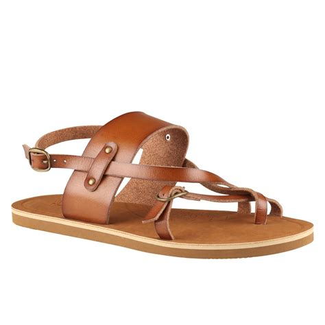 aldo brown sandals aldo liedolo flat sandals in brown black lyst