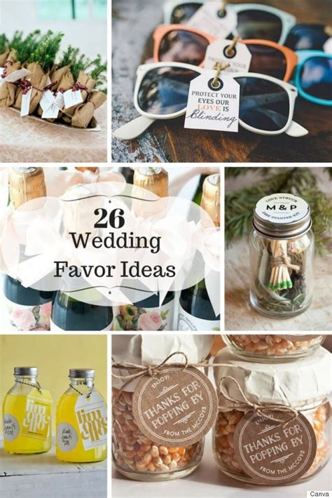 Wedding Favors Gift Ideas by 26 Wedding Favour Ideas Your Guests Will