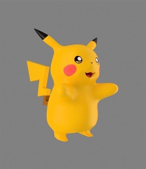 3d Pikachu Model