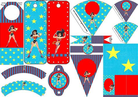 Kids Birthday Party Decorations At Home by Wonder Woman Free Party Printables Oh My Fiesta For Geeks