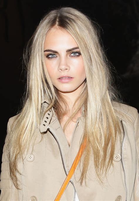 blonde hairstyles dark eyebrows the chic physique march 2013
