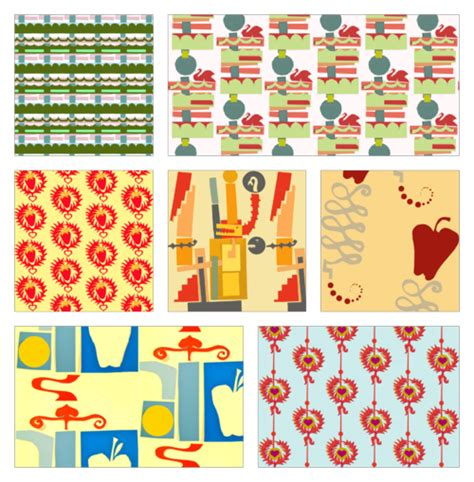 How To Make A Paper Collage - tutorial how to create a fabric design collection from a