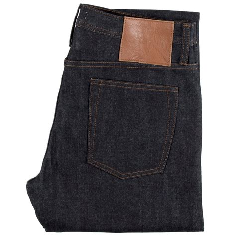 The Unbranded Brand Ub221 21oz Indigo Selvedge Tapered Fit ub204 tapered fit 14 5oz black selvedge denim the unbranded brand