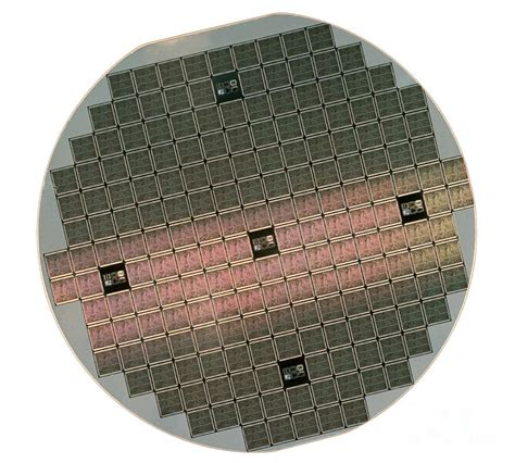 integrated circuit wafer size integrated circuit wafer photograph by jerry mcelroy