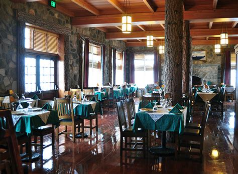 crater lake lodge dining room national parks centennial crater lake national park travelage west