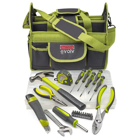 Quality Tool Set By Istanatoys Net craftsman 24 pc homeowner tool set