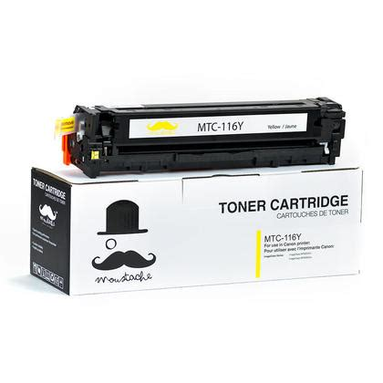 Cartridge Compatible Cp305 Yellow canon 116y 1977b001aa compatible yellow toner cartridge moustache 174 123inkcartridges 123ink ca