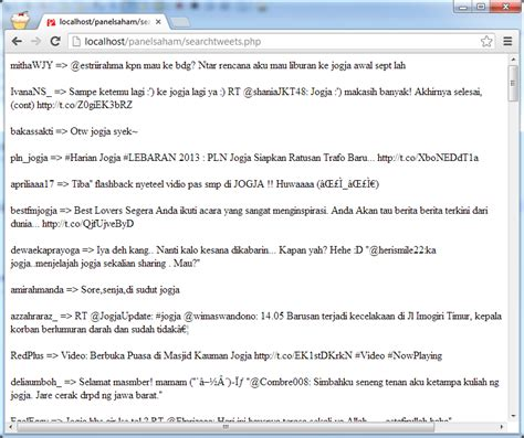 php tutorial twitter api tutorial pemrograman dan source code android web mobile