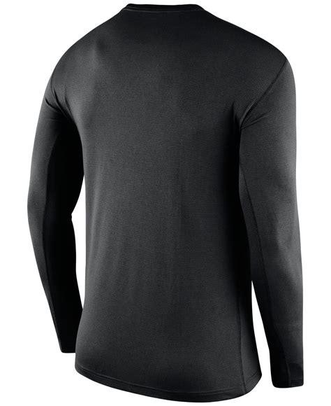 Bajukaost Shirt Nike Slevee 1 nike s sleeve atlanta falcons dri fit touch t shirt in black for lyst
