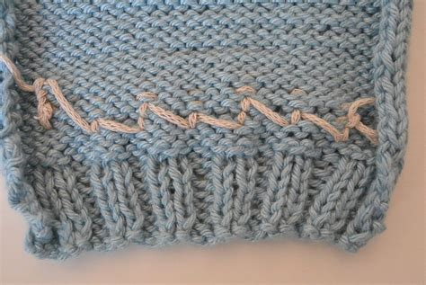 embroidery stitches on knitting embroider on knit tutorial duplicate stitch in a