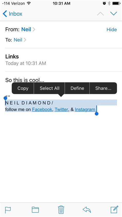 format email for iphone how to customize your iphone s email signature the