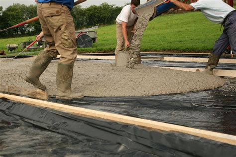 terrasse betonieren anleitung in 4 schritten