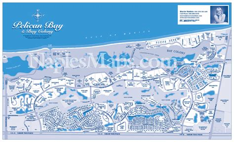 pelican bay florida map map pelican bay customized sle naples florida