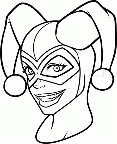 printable coloring pages harley quinn harley quinn coloring pages to download and print for free