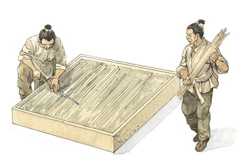 Invention Of Paper - ancient papermaking www pixshark images