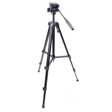 Tripod Weifeng weifeng portable lightweight tripod with 3 way wt 3950 black
