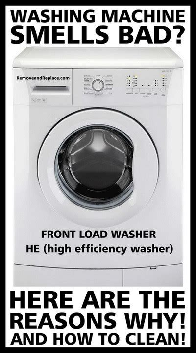 why does my bedroom smell musty how to clean an he washing machine removeandreplace com