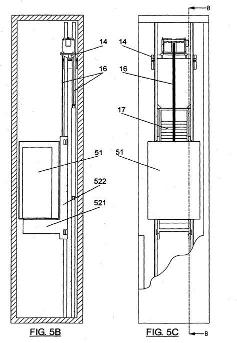 elevator in section patent ep1698581b1 machine lifting system and machine