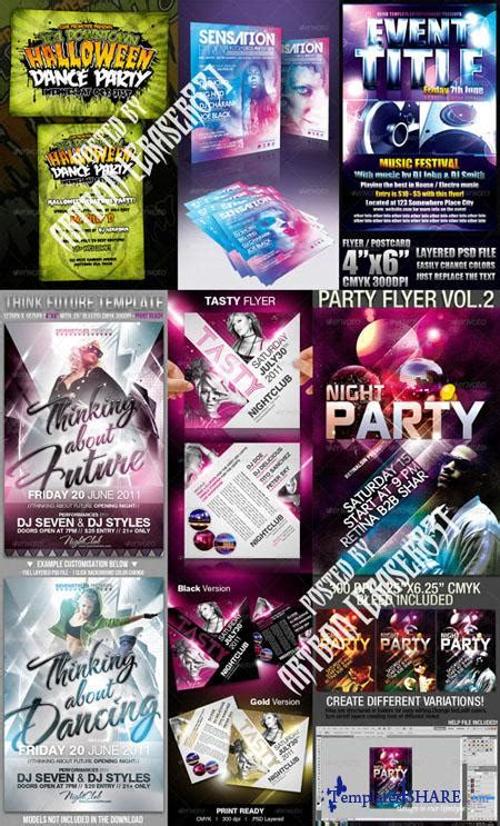 Graphicriver Flyers Templates Pack