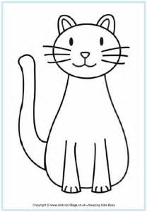 coloring pages animals cats cat coloring page