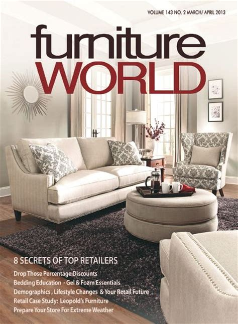 furniture magazines download furniture world march april 2013 pdf magazine